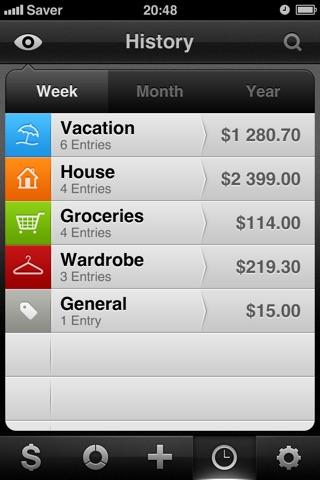 Saver ~ Control your Expenses Screenshot 4