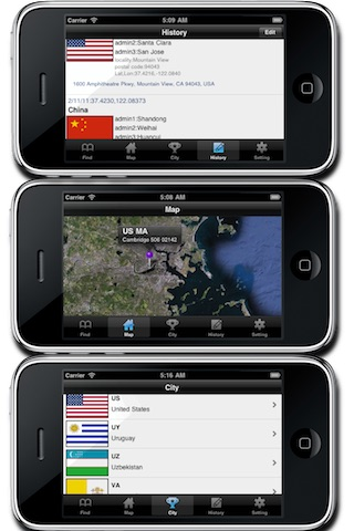 LocationFinder (Address, Ip, DNS) screenshot-3