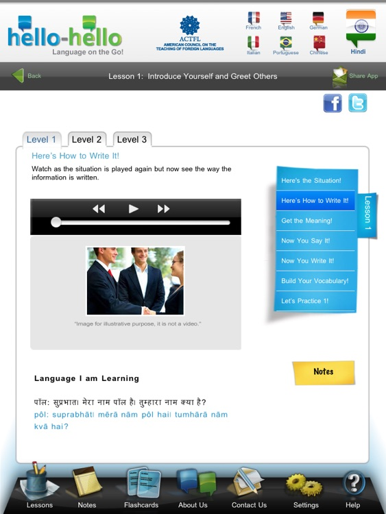 Hindi – Learn Hindi (Hello-Hello) screenshot-2