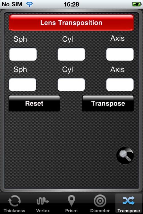 Optical Dispensing Assistant screenshot-4