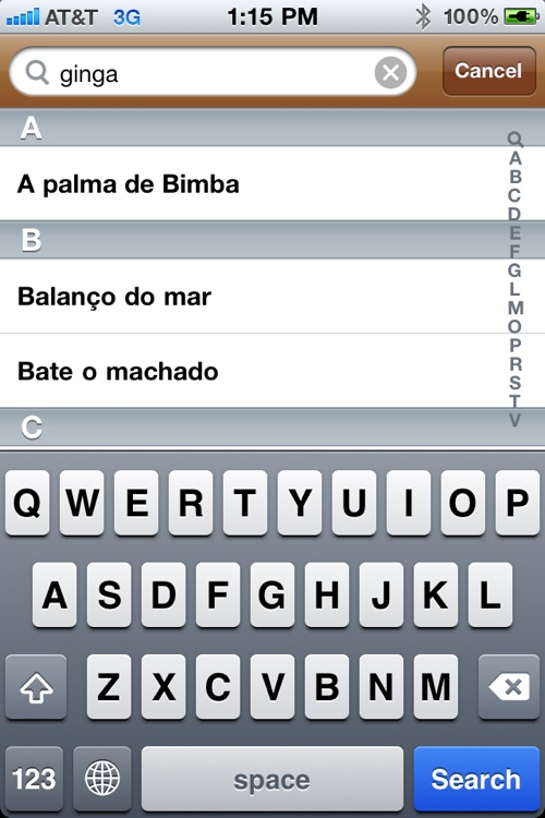 Capoeira Songs screenshot-3
