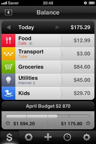 Saver ~ Control your Expenses Screenshot 1