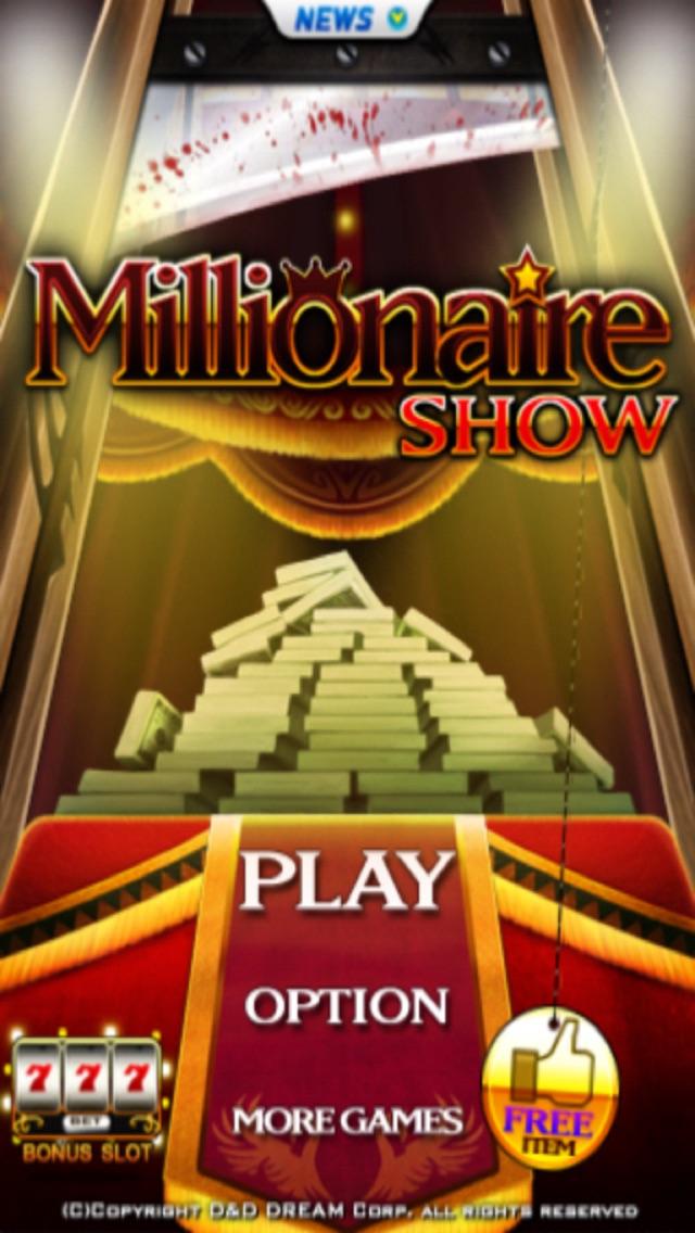 Millionaire Show Free Cheat Codes