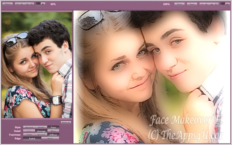 Face Makeover EZ Screenshot