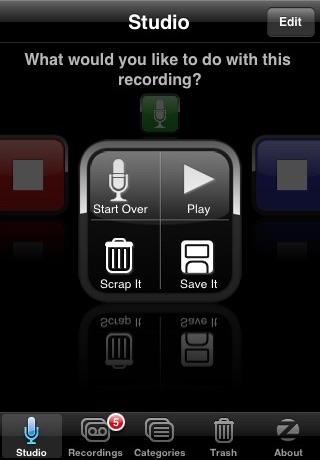 SpeakEasy Voice Recorder screenshot three