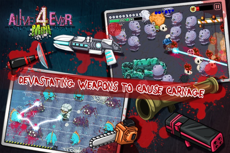 Alive4ever mini: Zombie Party