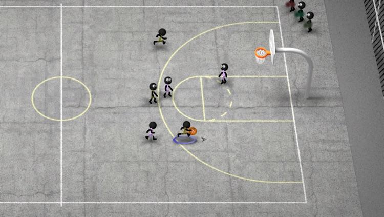 Stickman Basketball Blitz screenshot-4