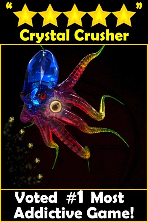 Crystal Crusher HD - Free 3D shooting puzzle games