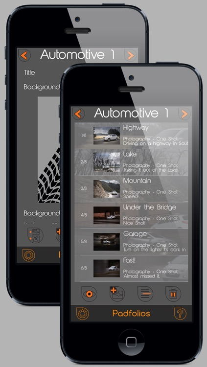 Padfolios - Portfolio for iPad, iPhone and iPod touch screenshot-4