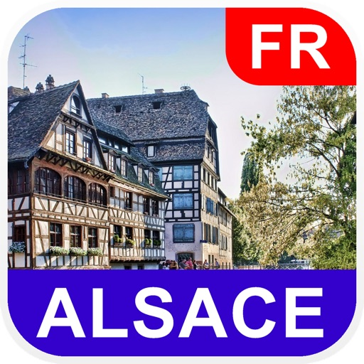 Alsace, France Offline Map - PLACE STARS