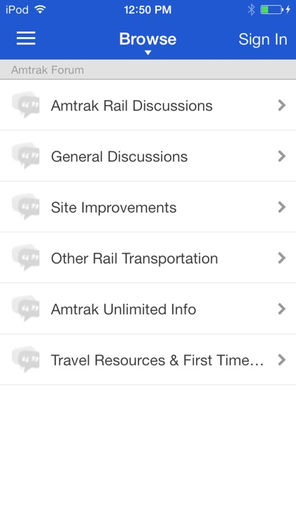 Amtrak Forum screenshot-1