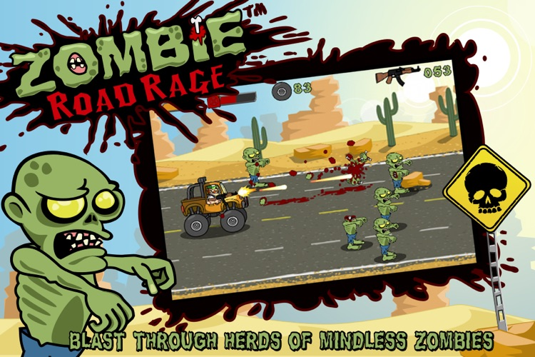 Zombie Road Rage screenshot-0