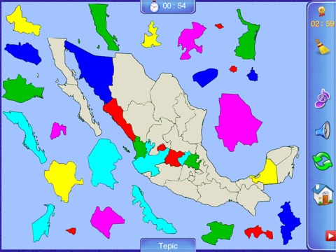 United Mexican States Puzzle Map | App Price Drops