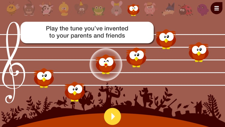 Music4Babies - Learn to read and write music with the animals screenshot-4
