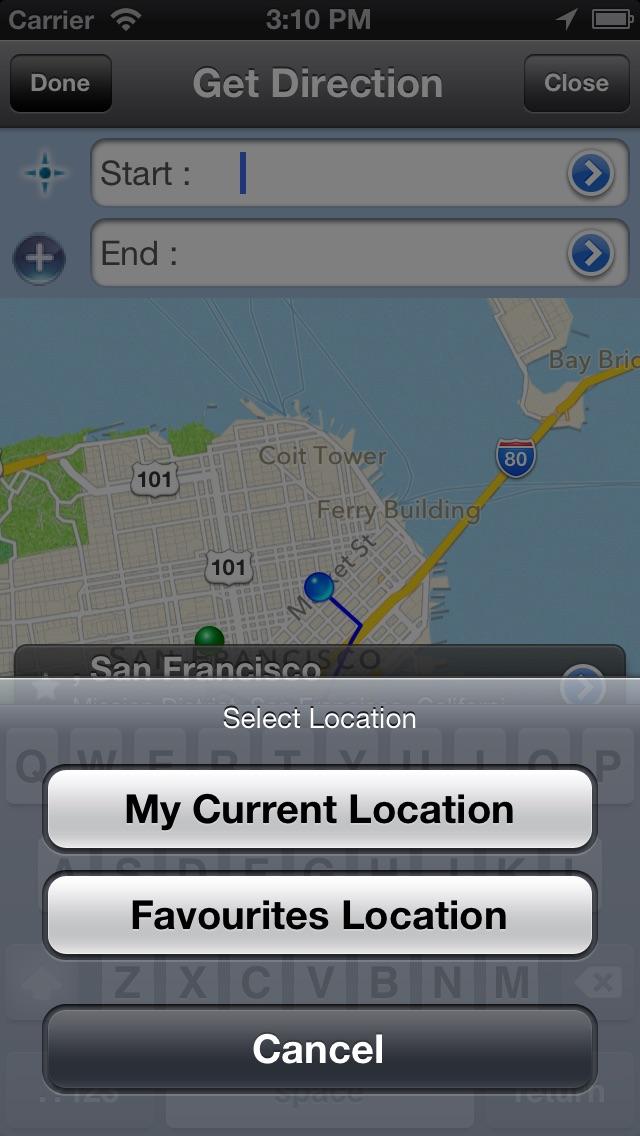 我的地圖親屏幕截圖2