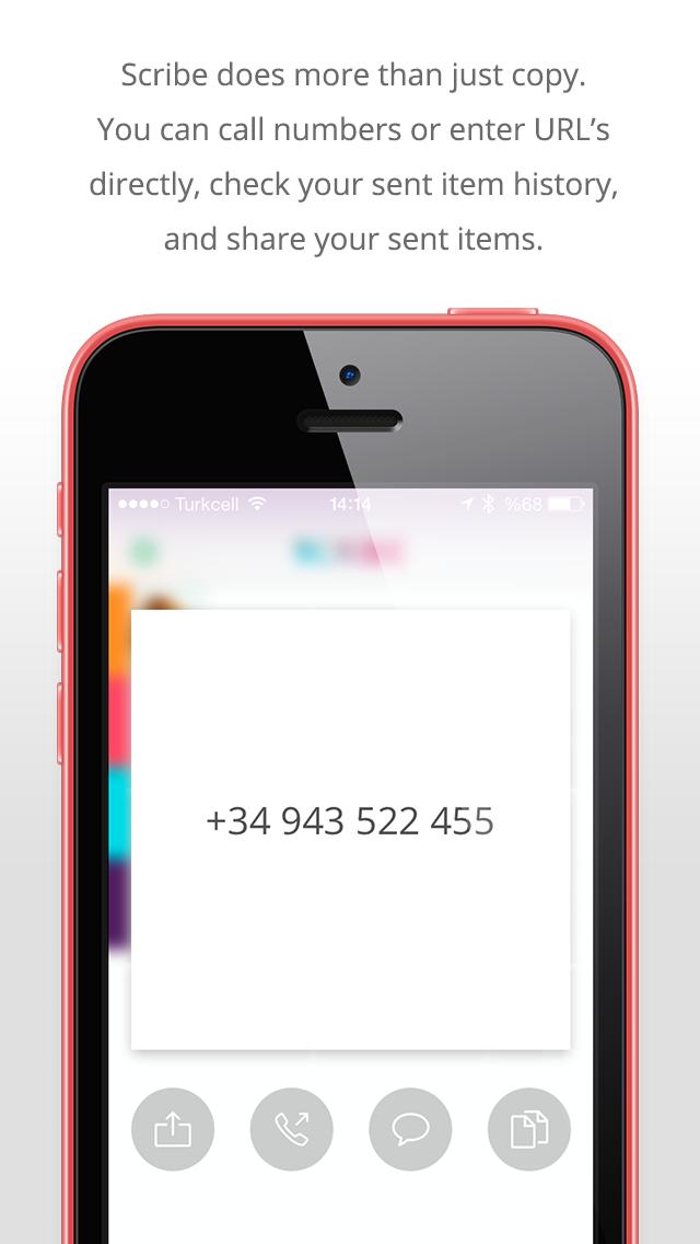 点击获取Scribe - Copy anything from your Mac to your iPhone