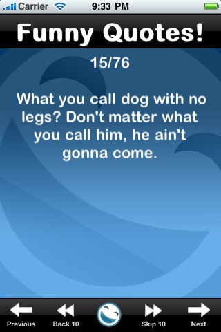 Funny Quotes (FREE) iPhone