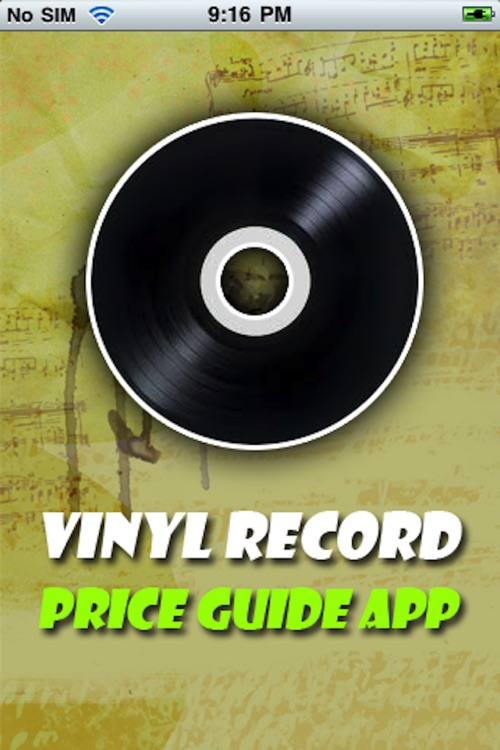 Vinyl Record Price Guide App By Mark Lopiccolo