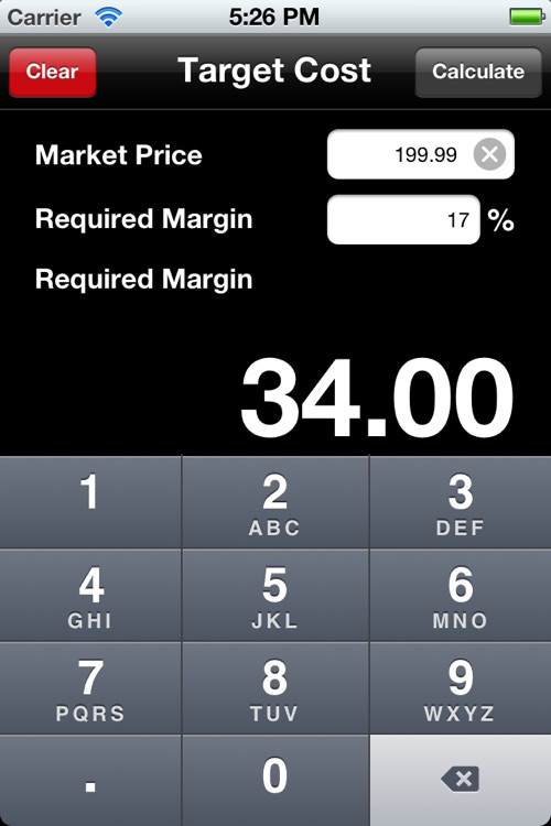 Product Pricing Calculator screenshot-4
