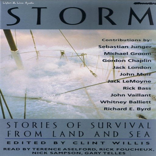Storm: Stories of Survival From Land and Sea (Audiobook)