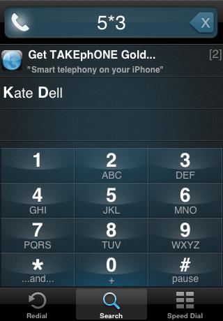 TAKEphONE Lite contacts dialer screenshot three