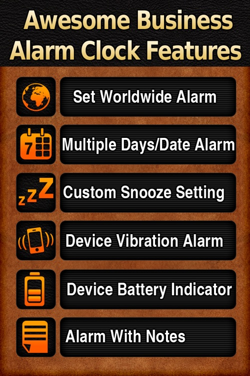 Business Alarm Clock screenshot-4