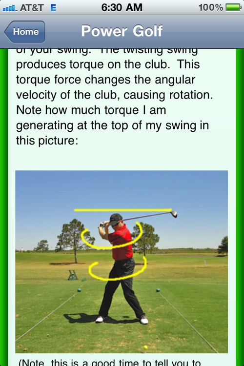 THE Golf App
