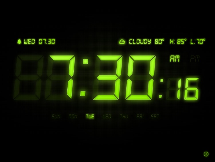 Alarm Clock HD Pro screenshot-1