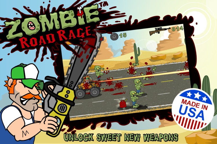 Zombie Road Rage screenshot-2