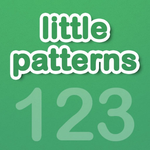 Little Patterns Numbers - Learn to Recognize and Complete Patterns
