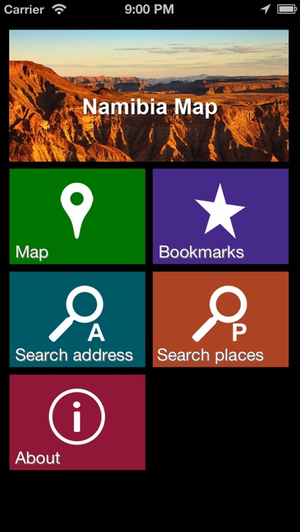 Offline Namibia Map - World Offline Maps