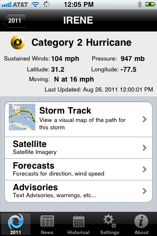 Hurricane Monitor screenshot-3