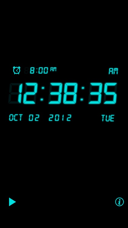 Alarm Night Clock / Music screenshot-0