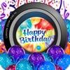 誕生日のブースのご挨拶 - フリーフォトeカードメーカー - iPhoneアプリ