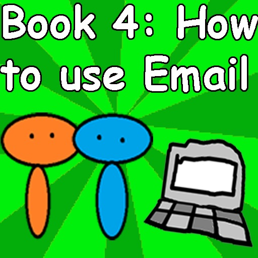 Red Blue 4 - How to use email icon