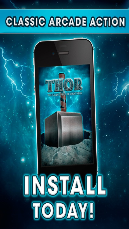 Thor The Slayin God of Thunder - Super Hero Arcade Fighting Games FREE