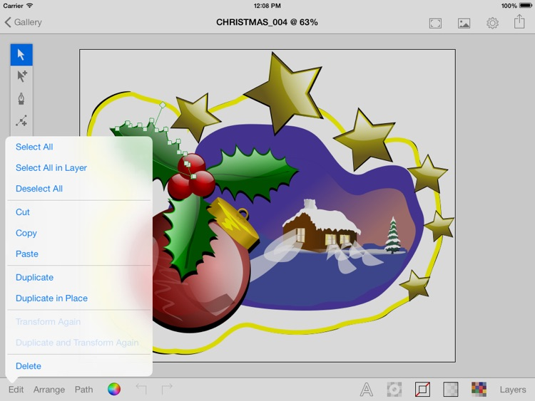 Vector Paint with DropBox sync