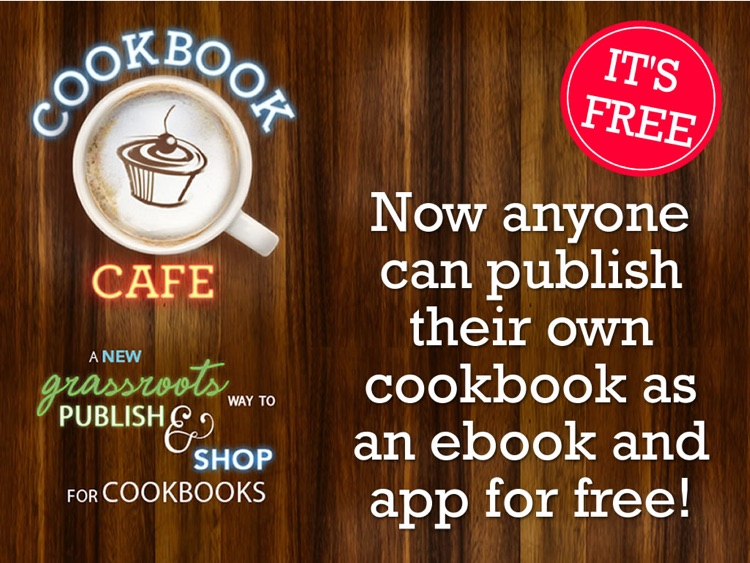 Cookbook Cafe: The grassroots way to shop for cookbooks -- by BakeSpace.com screenshot-3