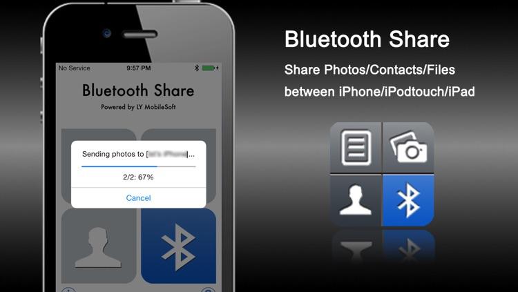 Bluetooth Share - Sharing Photos/Contacts/Files by LY MobileSoft
