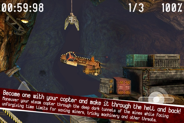 Gyro13 – Steam Copter Arcade HD screenshot-4