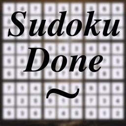 Sudoku Done for iPad