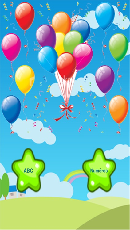 ABC French Balloons & Letters