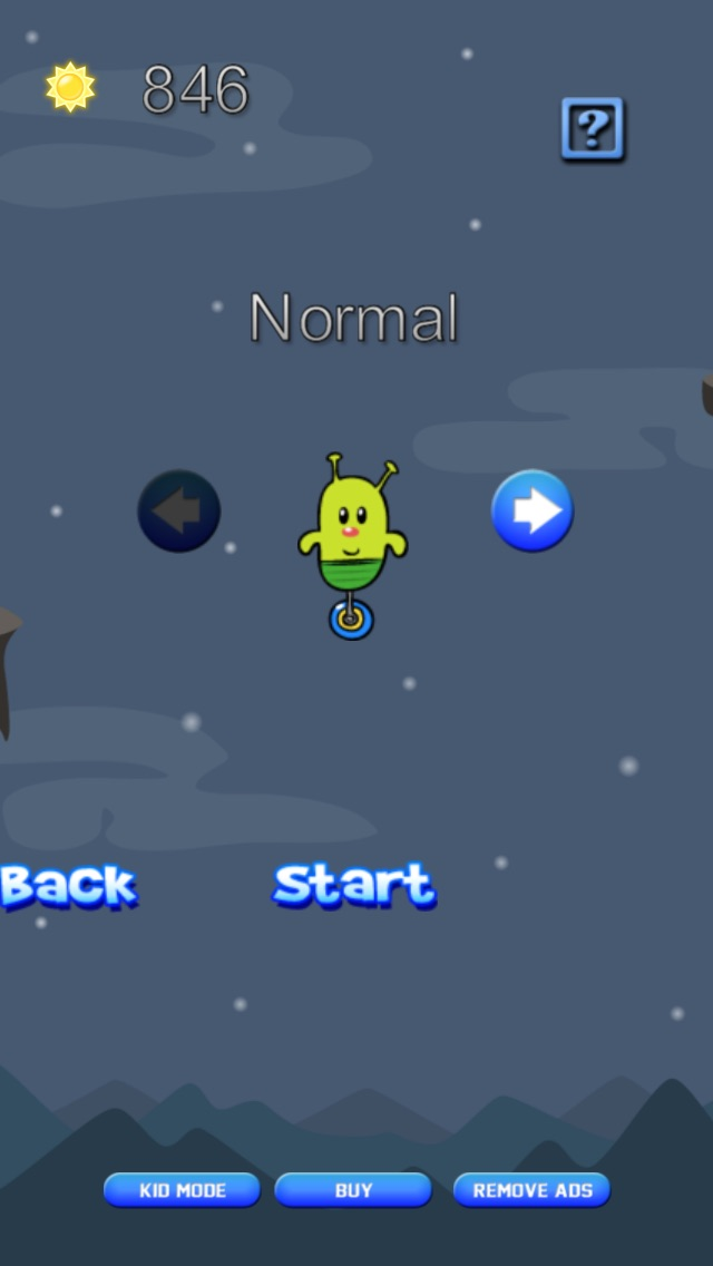Screenshot #7 for Doodle Alien vs Zombies Jump Game - Heads Up While Also Killing The Pacific Rim Plants!