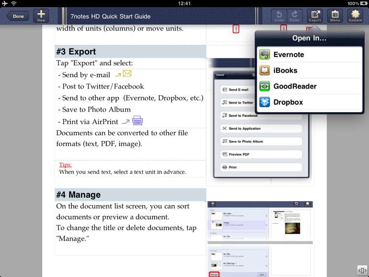 Smart Writing Tool - 7notes HD Premium screenshot-4