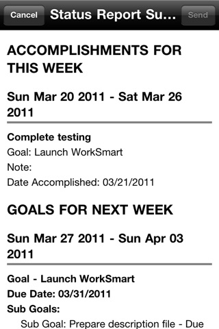 WorkSmart Lite - Manage your career, job accomplishments, and business goalsのスクリーンショット5