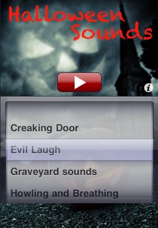 Halloween Sounds Lite Screenshot
