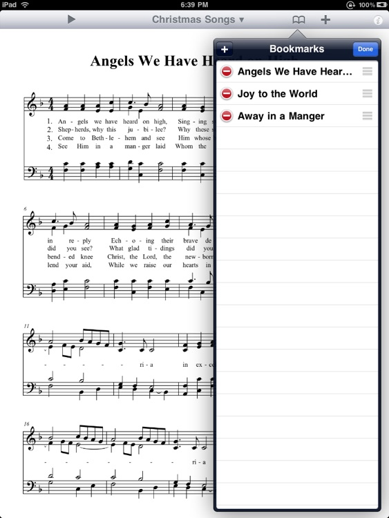 Christmas Songbook PD screenshot-3