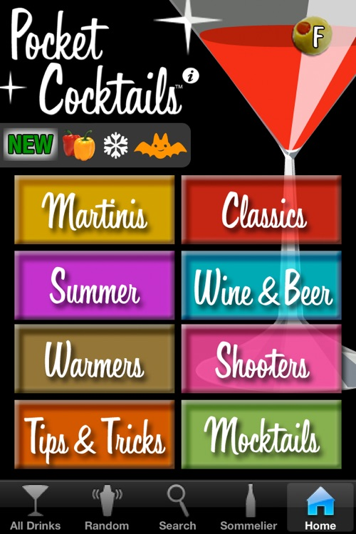 Pocket Cocktails