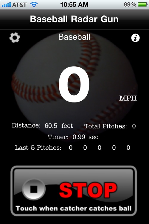 Baseball Radar Gun screenshot-2