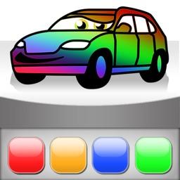 Cars Painting for iPad *KIDS LOVE*